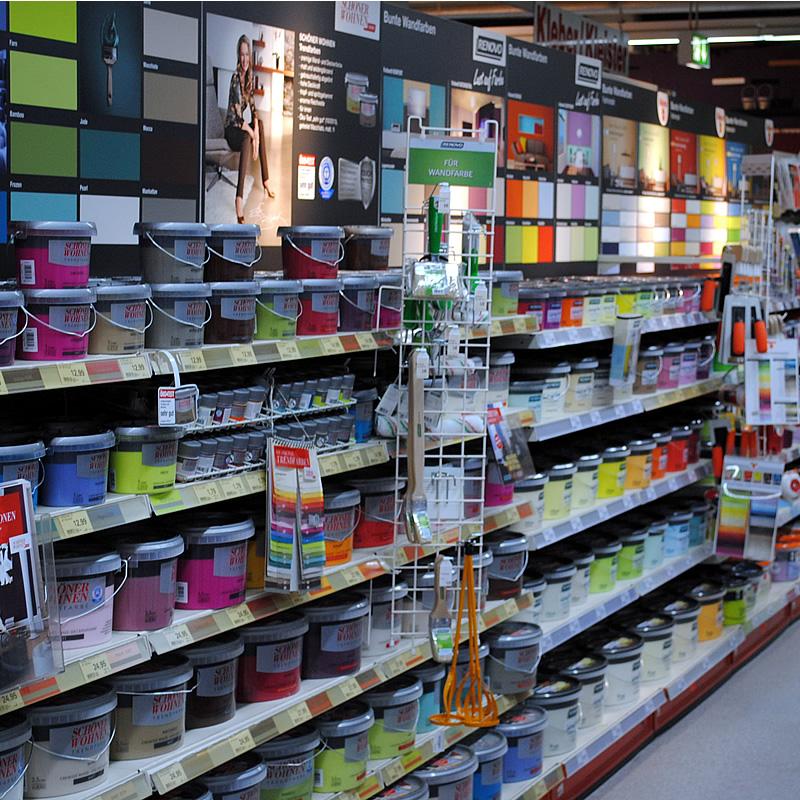 Farben tapeten und mehr herbst hagebaumarkt wir for Farben und tapeten